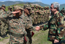 Working visit of President Serzh Sargsyan to Artsakh