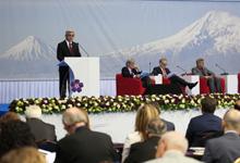 """Речь Президента Сержа Саргсяна на открытии Второго глобального форума """"Против преступления геноцида"""""""