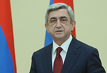 Statement by President Serzh Sargsyan on the Day of Commemoration of the Victims of the Armenian Genocide