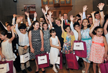 Rita Sargsyan was present at the opening of the New Names 6th International Festival of young musical performers