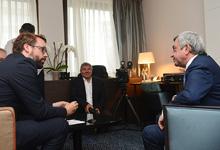 Նախագահ Սերժ Սարգսյանի հարցազրույցը գերմանական Բիլդ (Bild) պարբերականին