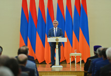 Address of the President of Armenia at the meeting with the representatives of the society, authorities and clergy
