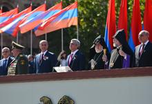 Выступление Президента Сержа Саргсяна на военном параде в честь 25-ой годовщины независимости РА