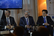 Working visit of President Serzh Sargsyan to the United States of America