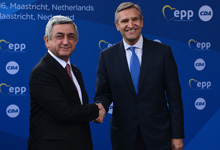 Working visit of President Serzh Sargsyan to the Kingdom of Netherlands