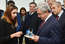 Рабочий визит Президента Сержа Саргсяна в Лорийский марз