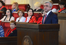 """Речь Президента РА Сержа Саргсяна на Конференции Женского совета РПА """"Армения-25: мир и женщины"""""""