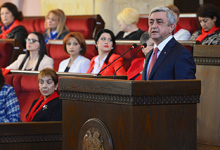 "President Serzh Sargsyan's address at the ""Armenia-25: The World and Women"" Conference"