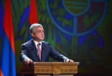 Речь Президента во время торжественного заседания, посвящённого 20-летию внедрения в Армении системы местного самоуправления
