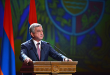 President Sargsyan's remark at the official gathering dedicated to the 20th anniversary of the introduction in Armenia of the self-governance system