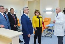 Первая леди РА Рита Сарсгян присутствовала церемонии открытия модернизированного центра гематологии