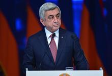 Отчётный доклад Президента РА, Председателя РПА Сержа Саргсяна на XVI съезде РПА
