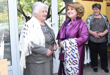 First Lady Rita Sargsyan attended a festive event dedicated to the International Day of Elderly People