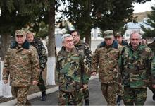 Working visit of President Serzh Sargsyan to Nagorno-Karabakh Republic