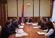 Նախագահի մոտ տեղի է ունեցել խորհրդակցություն՝ «Հայաստանի իրավազորություն» ծրագրի իրագործման ընթացքի վերաբերյալ