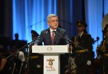 President attended the Haykian-2016 award ceremony