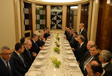 President met with the representatives of the Armenian business community of Belgium