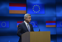 Working visit of the President of Armenia Serzh Sargsyan to Kingdom of Belgium