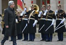 Официальный визит Президента Сержа Саргсяна во Французскую Республику