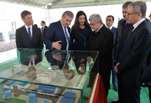 President attended the groundbreaking ceremony of Yerevan's new thermoelectric power station