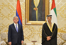 President has arrived to the United Arab Emirates on a working visit