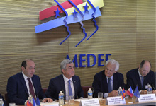 Statement of President Serzh Sargsyan at the meeting with the heads of French enterprises