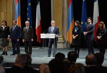 Նախագահ Սերժ Սարգսյանի ելույթը Փարիզի քաղաքապետարանում կայացած ընդունելությանը