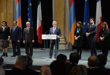 Statement by President Serzh Sargsyan at the reception in the Paris City Hall
