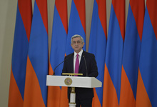 Congratulatory message by President Serzh Sargsyan on the occasion of Army Day