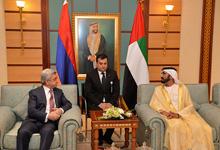 President met with the Vice President, Prime Minister, Minister of Defense and Emir of Dubai Mohammed bin Rashid Al Maktoum