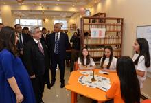 Президент Серж Саргсян посетил Араратский марз