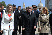 Working visit of President Serzh Sargsyan to Republic of Malta