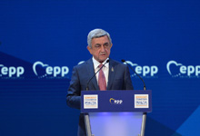 Statement by President Serzh Sargsyan at the Congress of the European People's Party