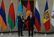 Working visit of President Serzh Sargsyan to the Republic of Kyrgyzstan