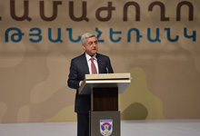 Statement of President Serzh Sargsyan at the Nation-Army-2017 Forum