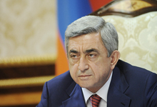 Address of President Serzh Sargsyan on the Commemoration Day for the victims of the Armenian Genocide