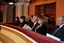 Президент присутствовал на первом концерте Всеармянского оркестра