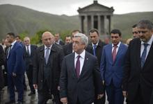 Рабочий визит Президента Сержа Саргсяна в Котайкский марз