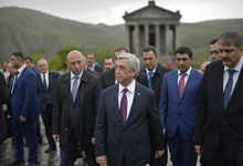 President Serzh Sargsyan conducted a working visit to Kotayq marz