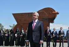 Поздравительное послание Президента Сержа Саргсяна по случаю Праздника Республики