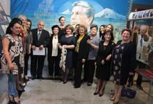 First Lady Rita Sargsyan visits K. Demirchyan Museum