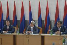 President Serzh Sargsyan's working visit to Tavush Marz