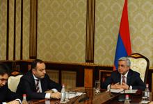Президент провел совещание по вопросам повестки армяно-российского сотрудничества