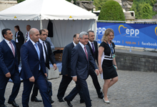 President Serzh Sargsyan attends EPP extended summit in Brussels