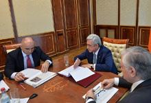 President holds consultation on Armenian-Indian economic cooperation agenda