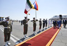Working visit of President Serzh Sargsyan to the Islamic Republic of Iran