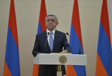 Поздравительное послание Президента Сержа Саргсяна по случаю Дня Независимости Арцаха