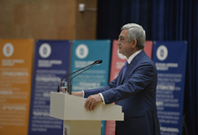 President attends solemn session of the Scientific Council of the Armenian-Russian University
