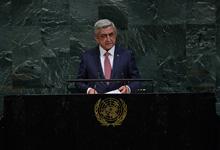 Речь Президента Сержа Саргсяна на 72-ой сессии Генеральной Ассамблеи ООН