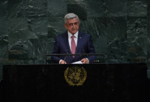 Statement by President Serzh Sargsyan at the general debate of the 72nd session of the UN General Assembly